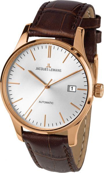 Jacques Lemans Herren-Armbanduhr London Automatic 1-2073F
