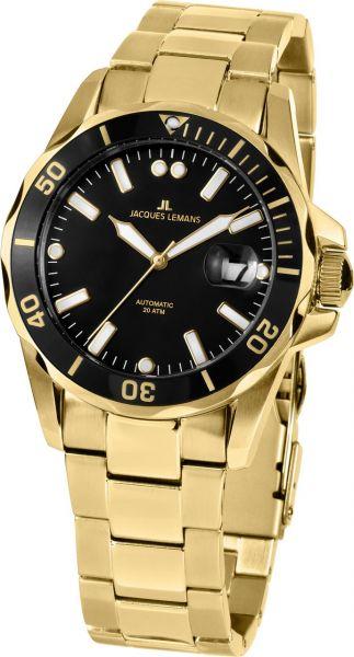 Jacques Lemans Herren-Armbanduhr Liverpool Diver Automatik 1-2089H