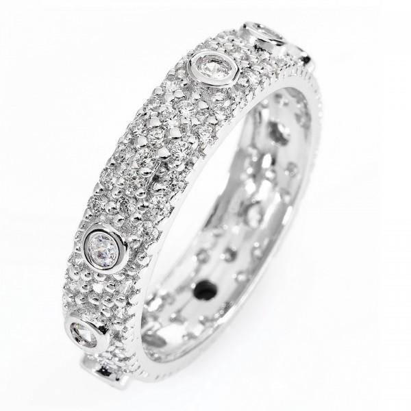 AMEN Ring Silber Kreuz Rosenkranz Gr. 50 AROZBB-10