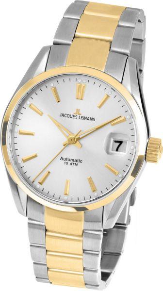 Jacques Lemans Damen-Armbanduhr Derby Automatic 1-1912F