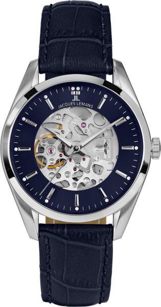 Jacques Lemans Herren-Armbanduhr Derby Automatic 1-2087C