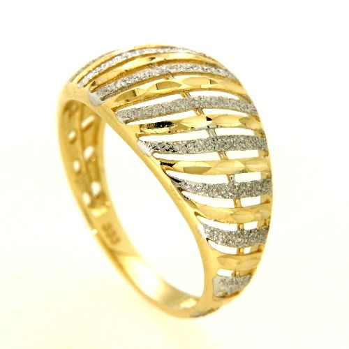 Ring Gold 333 bicolor Weite 54