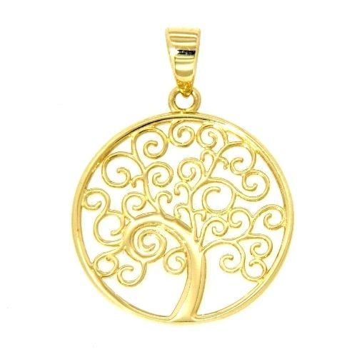 Anhänger Gold 333 Lebensbaum