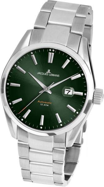 Jacques Lemans Herren-Armbanduhr Derby Automatic 1-1846.1F