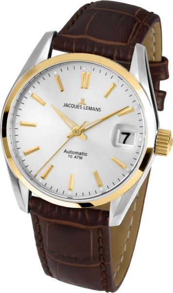 Jacques Lemans Damen-Armbanduhr Derby Automatic 1-1912C
