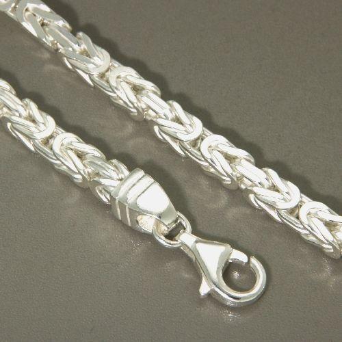 Königskette (KK100) Silber 925 50 cm