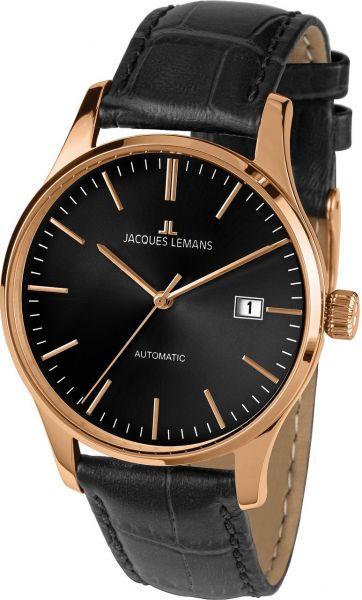 Jacques Lemans Herren-Armbanduhr London Automatic 1-2073E