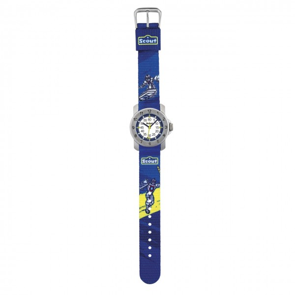 SCOUT Armbanduhr blau Action Boys 280376003