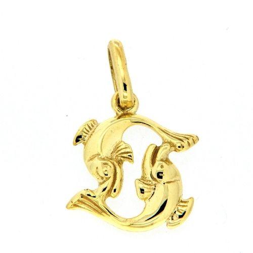 Tierkreiszeichen Gold 333 Fische