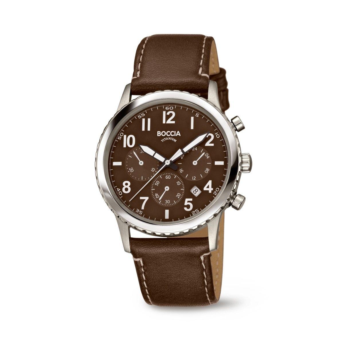 Boccia Titanium Armbanduhr 3745-02