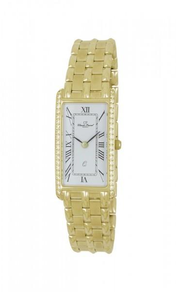 Claude Pascal Armbanduhr Damen Gold 585 2944161 ER