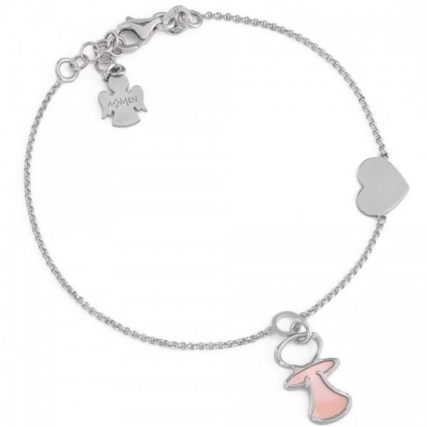 AMEN Armband 16 + 3 cm Silber BCIUBR1