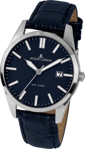 Jacques Lemans Herren-Armbanduhr Vienna 1-2002F