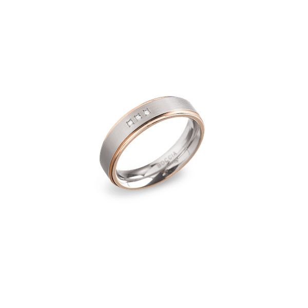 Boccia Titanium Ring 0134-0248 Größe 48