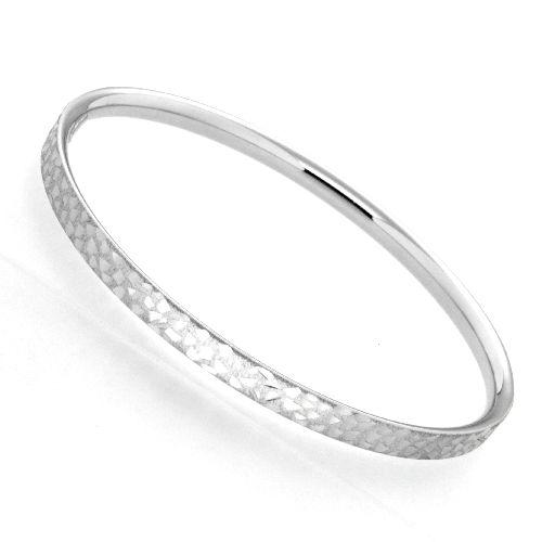 Armreif Silber 925 rhodiniert