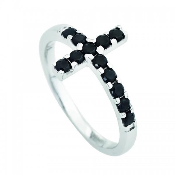 AMEN Ring Silber Kreuz Gr. 60 ACOBN-20