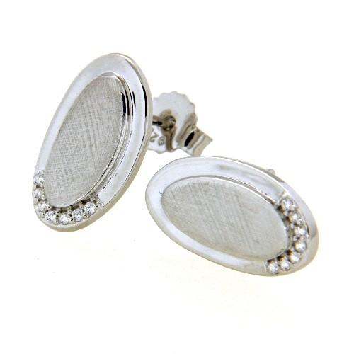 Ohrstecker Silber 925 rhodiniert
