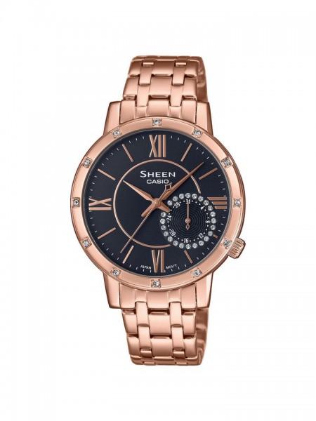 Casio SHEEN Damen Armbanduhr SHE-3046PG-8AUER