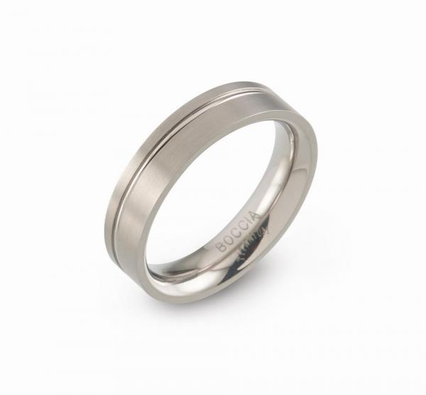 Boccia Titanium Ring 0149-0156 Größe 56