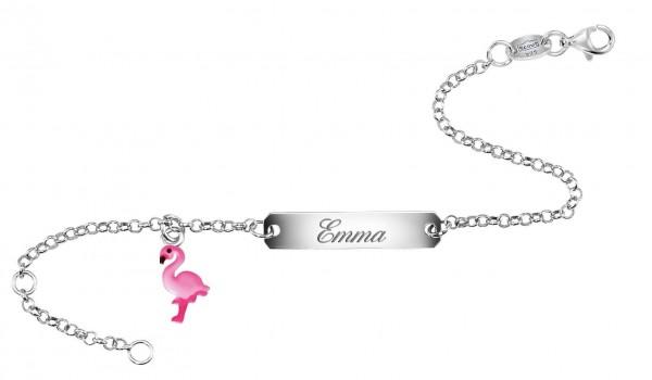 SCOUT Ident-Armband pink Flamingo 260000004