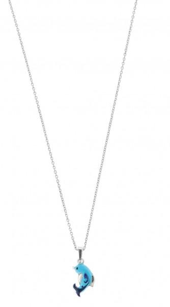 SCOUT Halskette silber, blau Wasserwelten 261079200