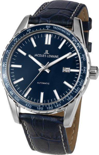 Jacques Lemans Herren-Armbanduhr Liverpool Automatic 1-2075C