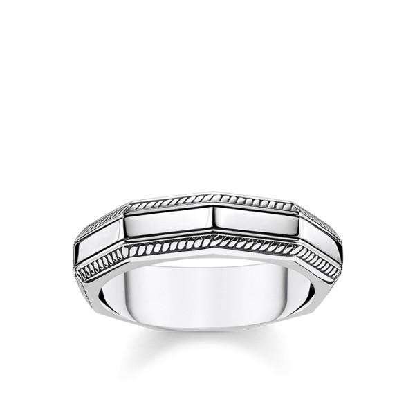 Thomas Sabo Ring eckig Größe 68 TR2276-637-21-68