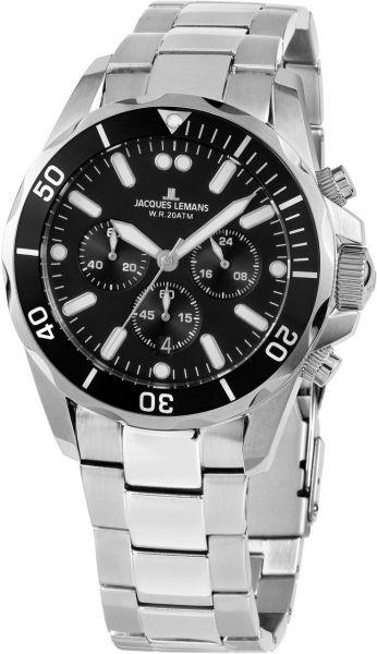 Jacques Lemans Herren-Armbanduhr Liverpool 1-2091F