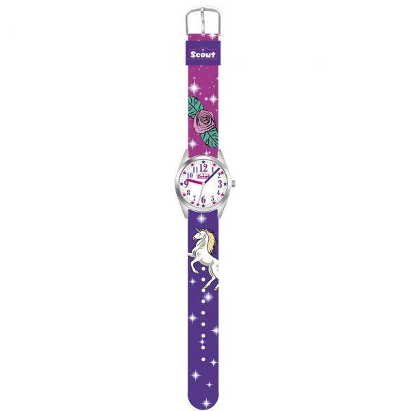 Scout Armbanduhr lila, pink Classic 280309005