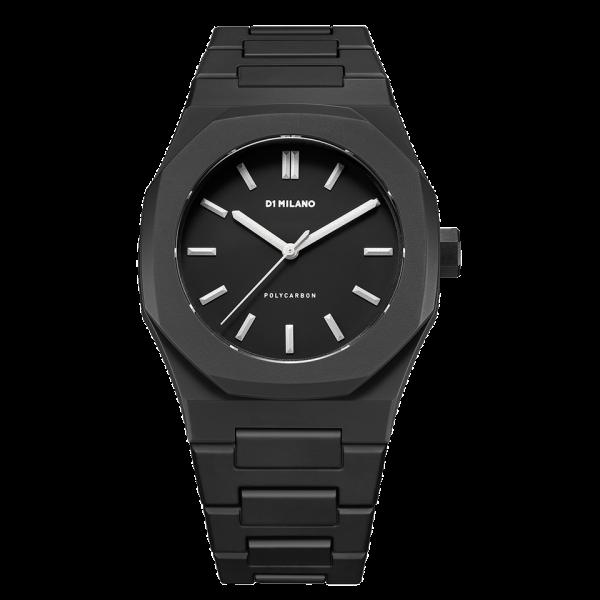 D1 Milano Armbanduhr Polycarbon Quarz PCBJ02