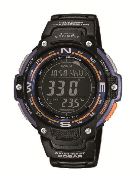 CASIO Armbanduhr CASIO Collection Men SGW-100-2BER