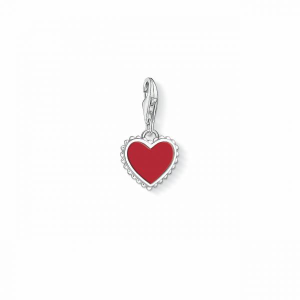 Thomas Sabo Charm-Anhänger Herz 1564-337-10