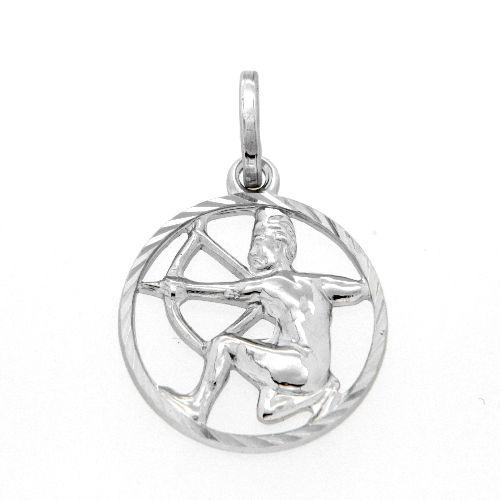 Tierkreiszeichen Silber 925 Schütze rhodiniert