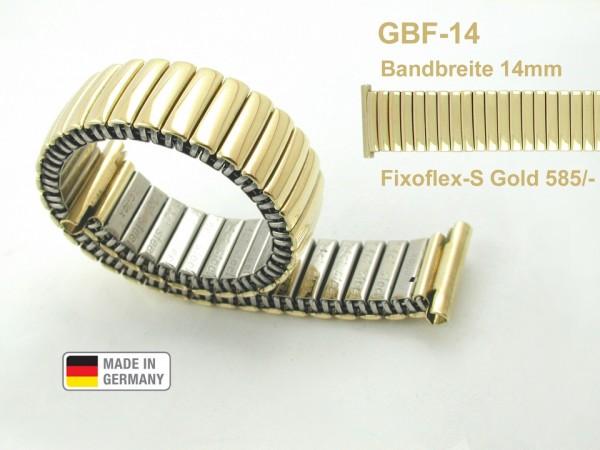 Claude Pascal Uhrarmband Gold 585 GBF-14