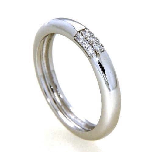 Ring Silber 925 rhodiniert Zirkonia Weite 50