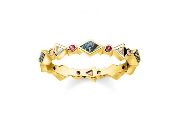 Thomas Sabo Ring Größe 48 TR2229-295-7-48