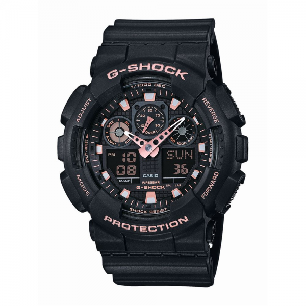 CASIO Armbanduhr G-SHOCK Original GA-100GBX-1A4ER