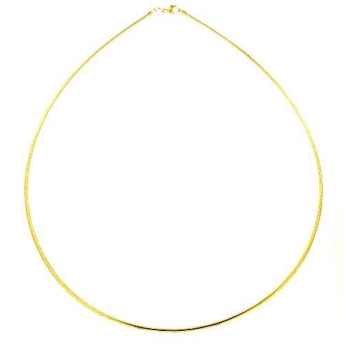 Halsreifen (1,5mm) Doublé 50 cm