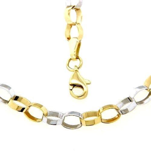 Kette Gold 333 45 cm bicolor