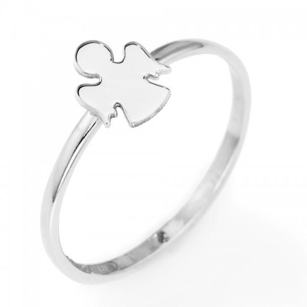AMEN Ring Silber Engel Gr. 58 AAB-18