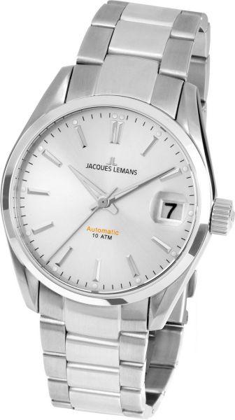 Jacques Lemans Damen-Armbanduhr Derby Automatic 1-1912E