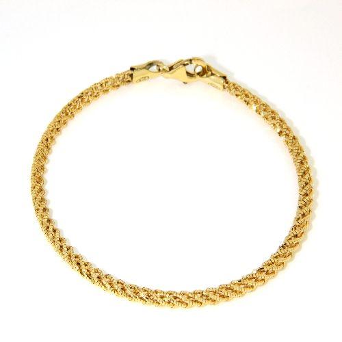 Armband Silber 925 vergoldet 19 cm
