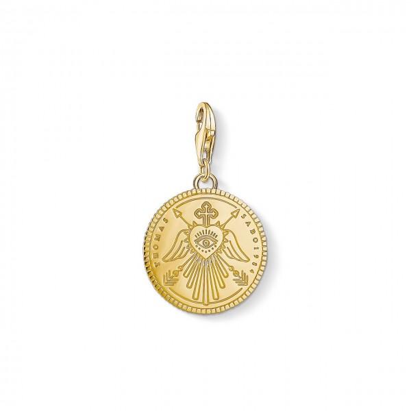Thomas Sabo Charm-Anhänger Coin gold 1705-413-39