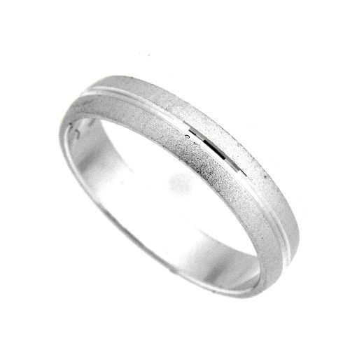 Freundschaftsring Silber 925 Breite 4 mm Weite 68