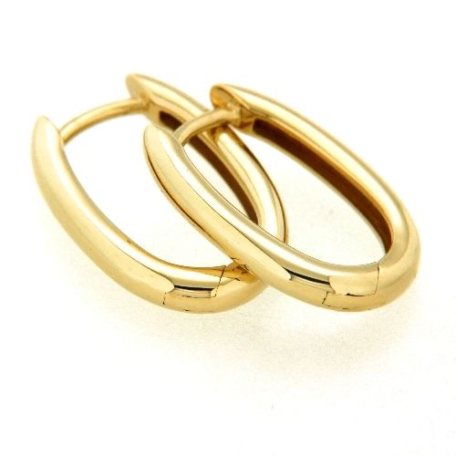 Scharniercreolen Gold 333 U-Form