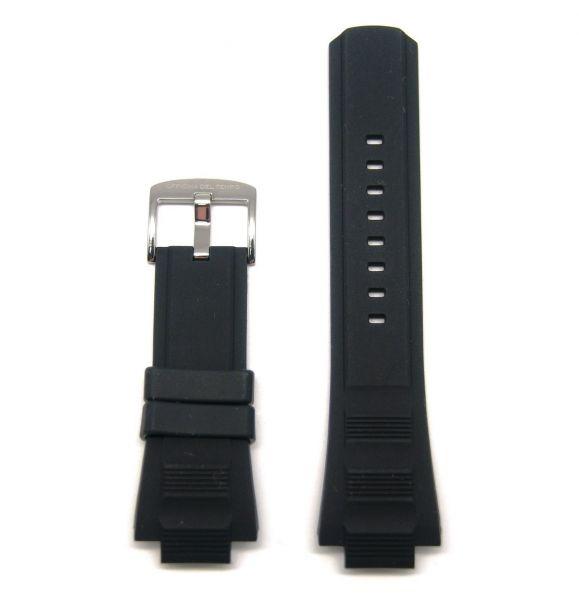 Original Ersatzarmband OFFICINA DEL TEMPO BGR2822N für OT1041 Silikon schwarz