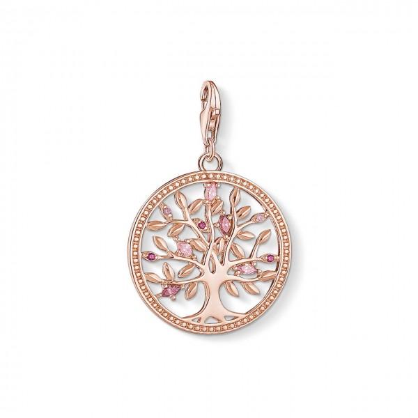 Thomas Sabo Charm-Anhänger Tree of Love rosé 1700-626-9