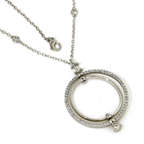 Collier Silber 925 rhodiniert 45 cm + 3 cm