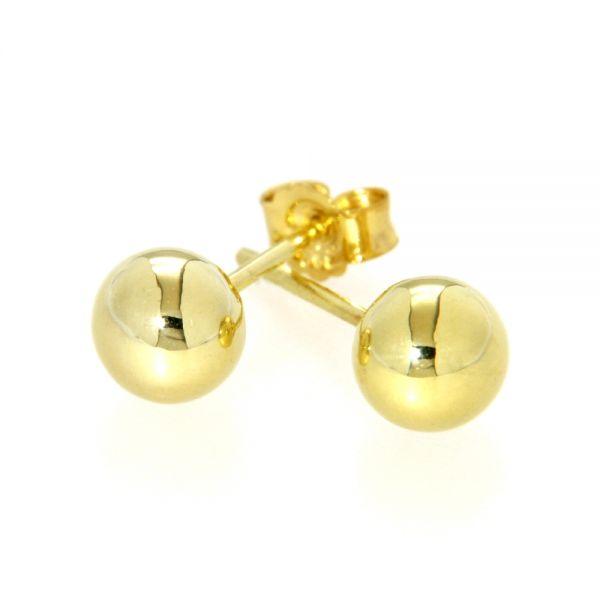 Ohrstecker Gold 333 6 mm