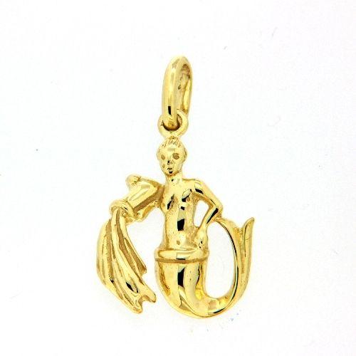 Tierkreiszeichen Gold 333 Wassermann